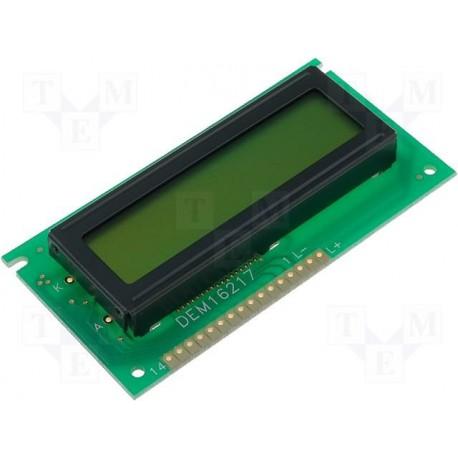 Afficheur alphanumérique LCD 2x16 caractères 84x44mm