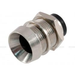 Support de led 8mm nickelé à led protégée