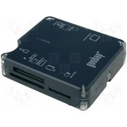 Lecteur de cartes mémoires SD-SD/HC-Micro SD
