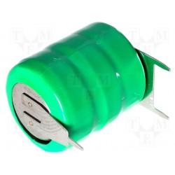 Accu Ni-Mh 3,6V 80mA pour circuit imprimé 3 points