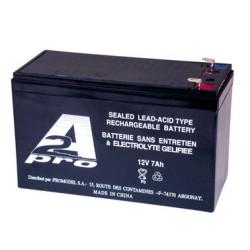 Batterie au plomb étanche 12V 7Ah - 151x65x97mm