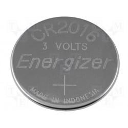 Pile lithium bouton 20mm 3V CR2016