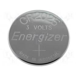 Pile lithium bouton 20mm 3V CR2025