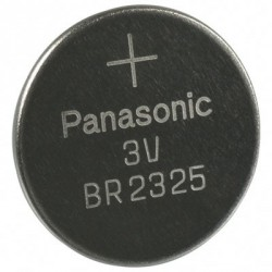 Pile lithium bouton 23mm 3V CR2325