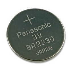 Pile lithium bouton 23mm 3V CR2330
