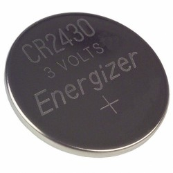 Pile lithium bouton 24x3mm 3V 280mAh CR2430