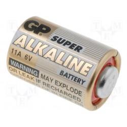 Pile alkaline 6V 33mA GP11A 10x16mm