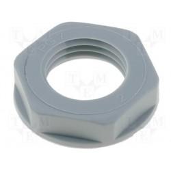 Ecrou polyamide 7mm pour presse-étoupe