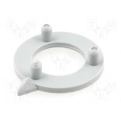 Flèche grise pour bouton 16mm pour bouton KN156x