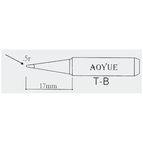 Panne de fer à souder série 936/937 T-B R pointe 0,5mm
