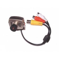 Caméra couleur Cmos + 6led I/R avec audio