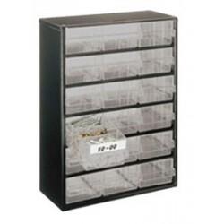 Casier métallique 18 tiroirs Raaco