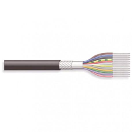 Câble blindé 12cdts 0,14mm + masse