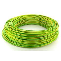 Câble de cordon 2,5mm² 36A Jaune/Vert