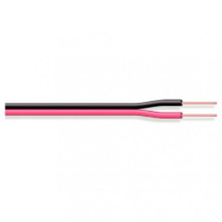Câble alimentation / haut-parleur rouge / noir 2x0,35mm²