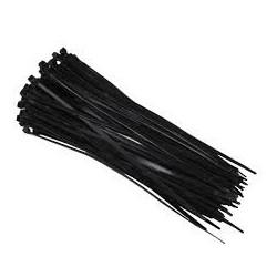 Colliers de serrage nylon noir 3,6x370mm
