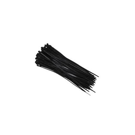 Colliers de serrage nylon noir 7,6x240mm