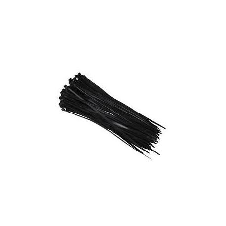 Colliers de serrage nylon noir 7,6x365mm