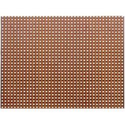 Plaque d' essais en bakélite à pastilles cuivrées 100x100mm au pas de 2,54mm