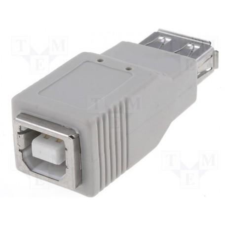 Adaptateur USB A femelle / B femelle