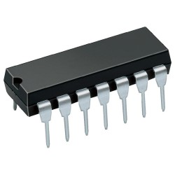 Circuit intégré dil14 SN7404