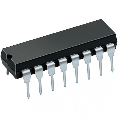 Circuit intégré dil16 CD4042