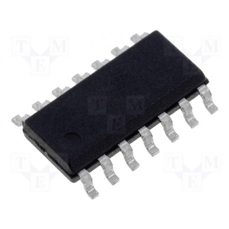 Circuit intégré CMS so14 SN74ACT74