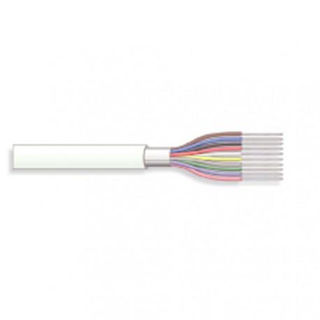Câble blindé 10cdts 0,22mm² + masse Ø6,5mm