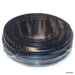 Fil de câblage souple 1,5mm² noir