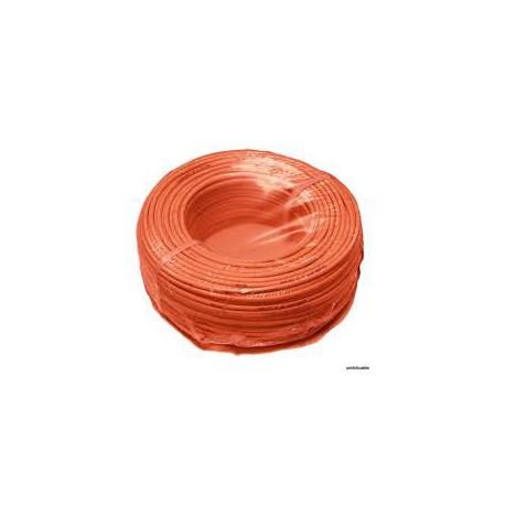 Fil de câblage souple 1,5mm² orange
