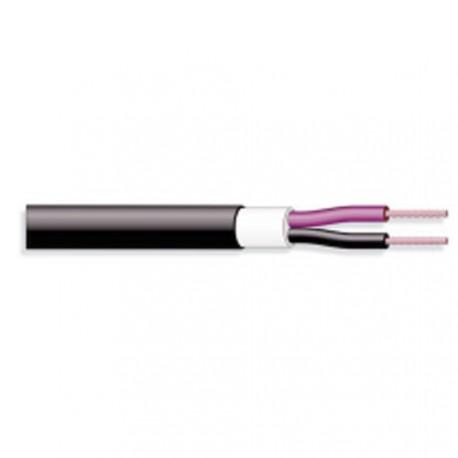 Câble H.P. rouge / noir gainé 2x2,5mm²