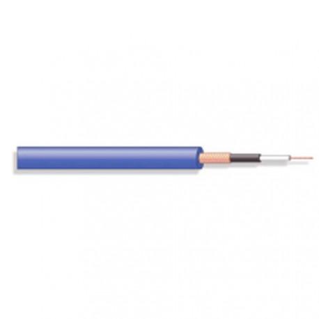 Câble blindé souple 1x0,22mm² Ø extérieur 6mm bleu