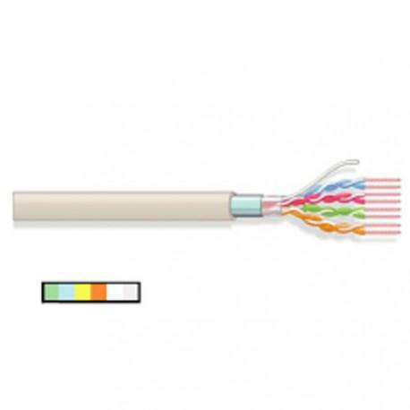 Câble réseau 4 paires souples blindées AWG26 cat5e