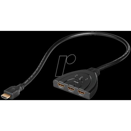Commutateur automatique HDMI 3 voies