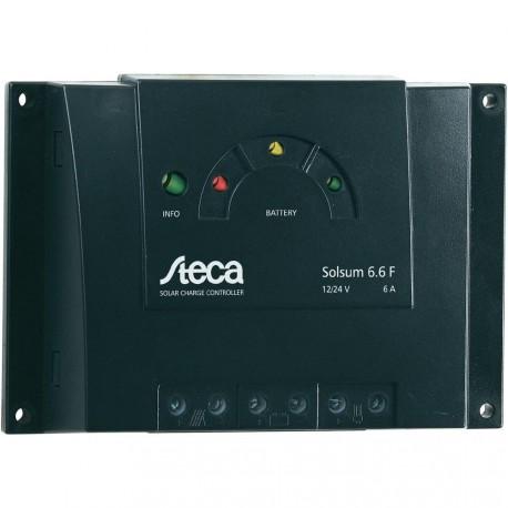 Régulateur de charge solaire 12/24V 6Amp.