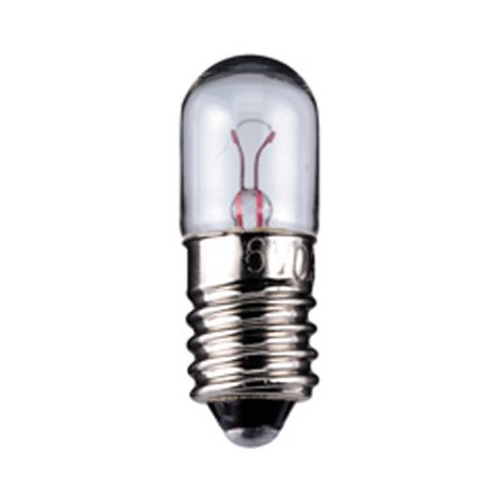 Ampoule E10 10x28mm 6V 350mA