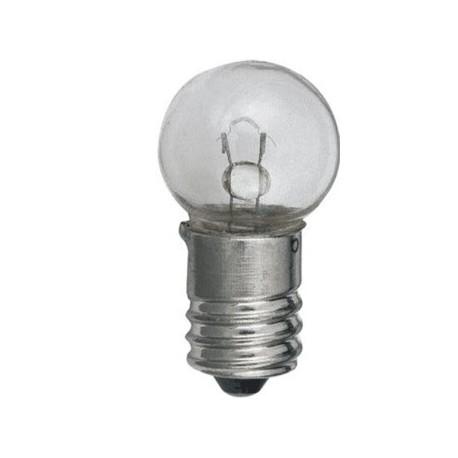 Ampoule E10 15x28mm 6V 1amp.
