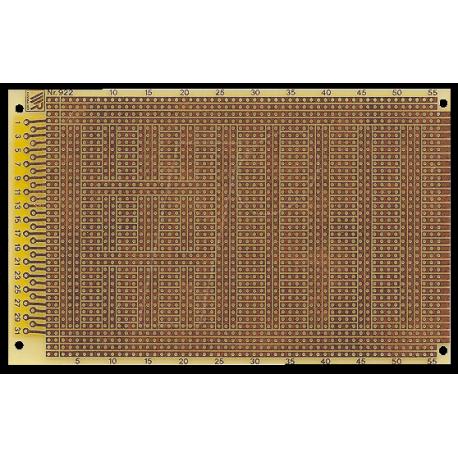 Plaque d'essais bakélite 100x160mm à bandes