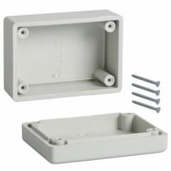 Coffret ABS Hammond IP54 81x56x40mm gris