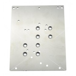 Platine de fixation Mean-Well 130x104x2mm