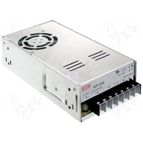 Alimentation Mean-Well 240W 15V 16Amp.