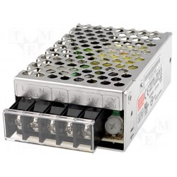 Alimentation Mean-Well série RS 25W - 88/264Vac - 12Vdc - 2,1Amp.