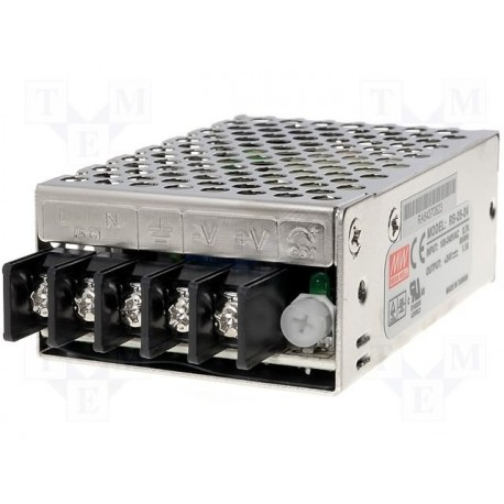 Alimentation Mean-Well 25W RS 24V 1,1A