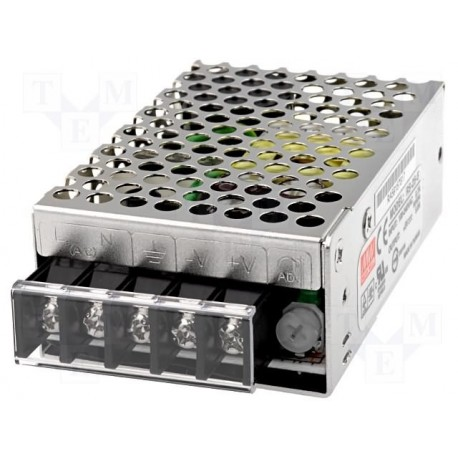 Alimentation Mean-Well 25W RS 5V 5A