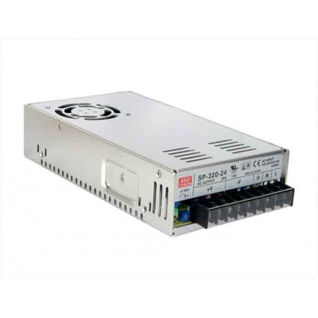 Alimentation Mean-Well série SP 320W - 88/264Vac - 24Vdc - 13Amp.