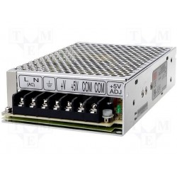 Alimentation Mean-Well 85/264Vac - 58W +5Vdc / +24Vdc