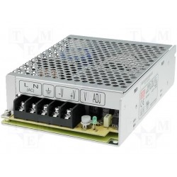 Alimentation Mean-Well série RS 75W - 88/264Vac - 12Vdc - 6Amp.