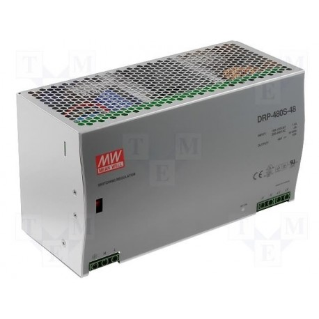 Alimentation Mean-Well rail-din 480W 10Amp. 48V