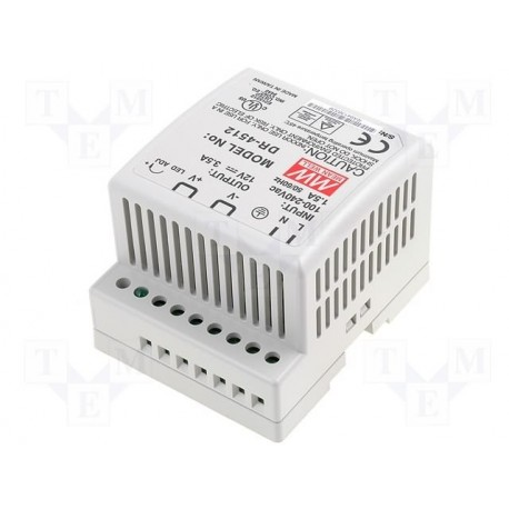 Alimentation rail-din Mean-Well 12V 3,5Amp 42W