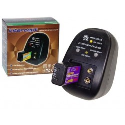 Chargeur pour 2 accumulateurs Ni-Cd - Ni-Mh type 6F22 / 6LR61 8,4V
